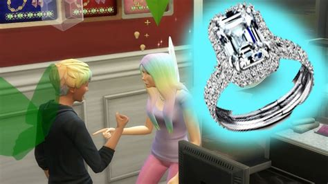 how to buy wedding ring in sims freeplay wedding ring bling family sims 4 let s play part 51 youtube