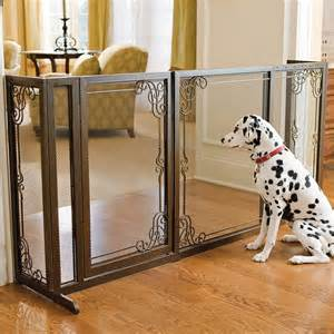 Repurpose Old Tv Cabinet by 34 Quot H Expandable Free Standing Steel Mesh Pet Gate Dog Gate