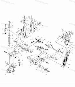 Polaris Atv 1999 Oem Parts Diagram For Rear Suspension