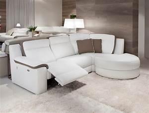 canape d39angle 1 relax electrique ref pavana meubles With canapé d angle 2 relax electrique