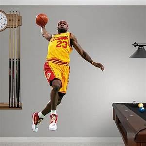 LeBron James Throwback - 2009 MVP REAL BIG Fathead Wall