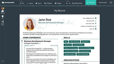 resume builder india professional template indian