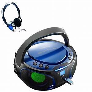 Mp3 Player Für Kids : portable boombox stereo system cd mp3 player usb kids room party radio earphone ebay ~ Sanjose-hotels-ca.com Haus und Dekorationen