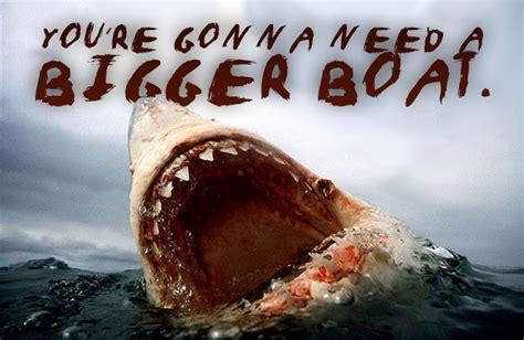 Jaws Bigger Boat by Kingdumb November 2013