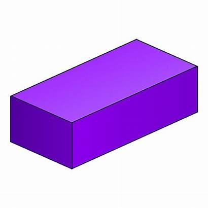Cuboid Shape 3d Clipart Geometry Shapes Solids