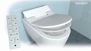 Duravit Sensowash Erfahrung : sensowash slim dusch wc handhabung und funktionen youtube ~ Eleganceandgraceweddings.com Haus und Dekorationen