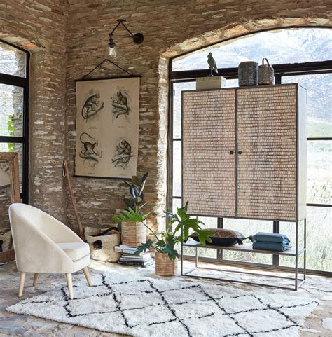 tappeto berbero tappeto berbero in e cotone 140x200 maisons du monde