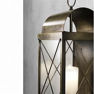 Grande Lanterne Exterieur : lanterna grande da terra da esterno con candela il fanale ~ Teatrodelosmanantiales.com Idées de Décoration