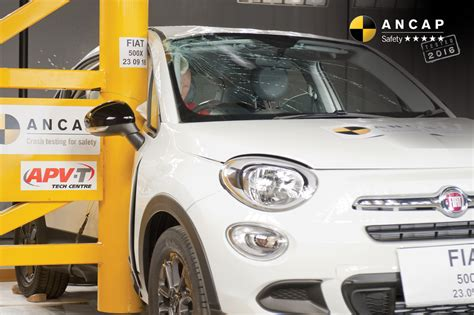 Safety Rating Fiat 500 by Images Ancap