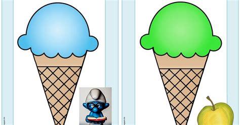 """Ideenreise Ergänzende Flashcardswordcards """"ice Cream"""""""