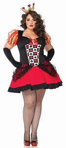 Queen of hearts plus size costume - curvyoutfits.com