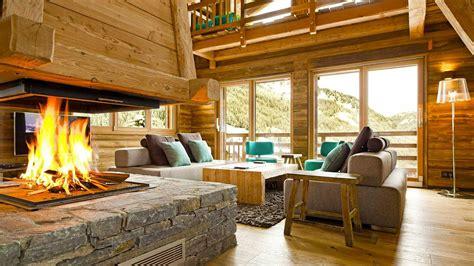 garnache chalet tradition  maison contemporaine bois