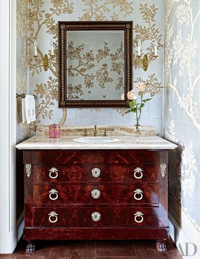 powder rooms   impress  guest architectural digest