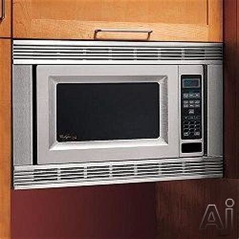 whirlpool mkxps  countertop microwave oven trim kit