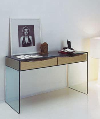Gulliver Modern Glass Console Table by Tonelli: NOVA68.com