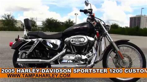 2005 Harley Davidson Sportster 1200 Custom For Sale Review
