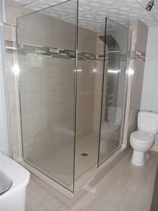 0101 amenagement salle de bains douche walk in With amenagement salle de bain
