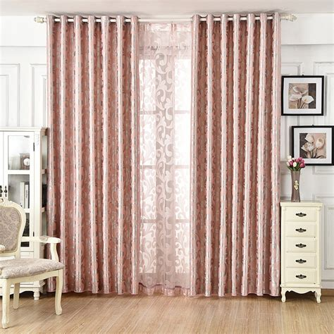 cheap silver rose gold curtains affordable jacquard