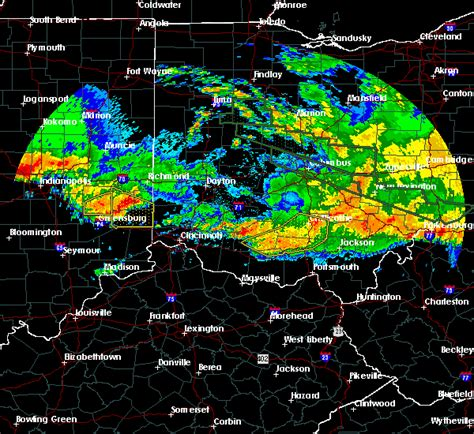 interactive hail maps hail map for waverly city oh