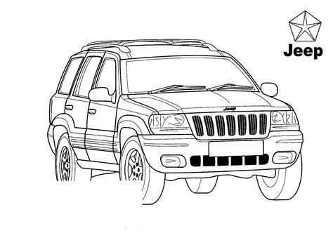 disegni da colorare jeep disegni da colorare jeep grand