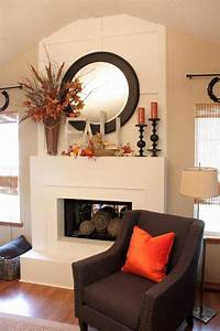 30, Amazing, Fall, Decorating, Ideas, For, Your, Fireplace, Mantel