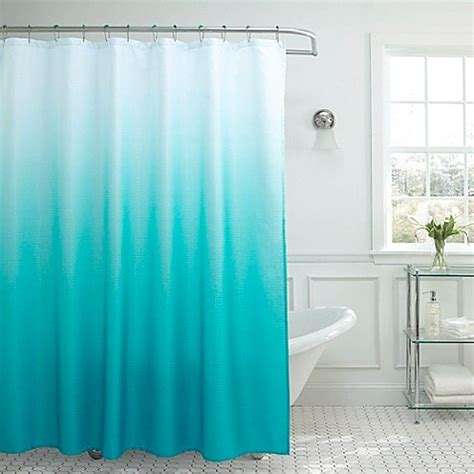 Ombre Shower Curtain - ombre weave shower curtain bed bath beyond