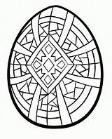Coloring Easter Egg Designs Adults Popular sketch template