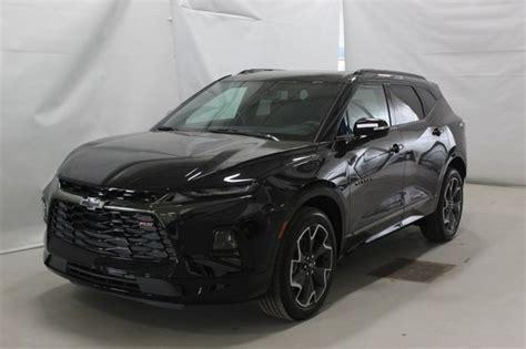 New Chevrolet Blazer Awd Black