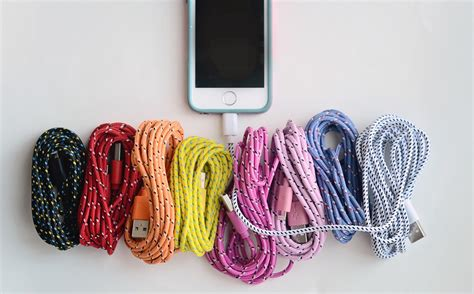 10 foot iphone 5 charger 10 foot bungee iphone cable iphone 5