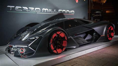 Lamborghini Unveils The Future Sports Car At Emtech Mit