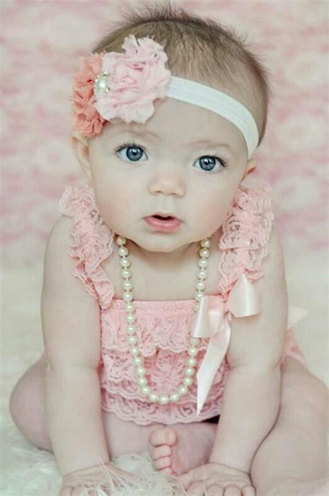 beautiful baby girls  month pictures valentine pictures