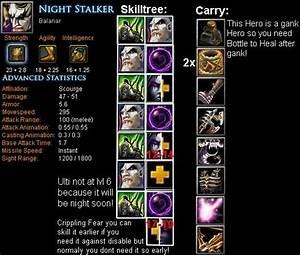 Night Stalker Balanar Item Build Skill Build Tips