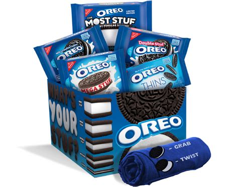There's just something about those delicate sounds, so choosing a standalone music box or one that can hold a special piece of jewelry makes a wonderful, touching, and personal present. Oreo Selling 'What's Your Stuf?' Cookie Variety Pack ...