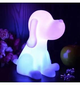 Lampe Sans Fil Deco : lampe de chevet chien led sans fil rechargeable multicouleurs d co enfant pinterest chevet ~ Teatrodelosmanantiales.com Idées de Décoration