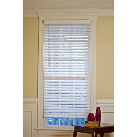 better homes and gardens 2 quot faux wood window blinds white