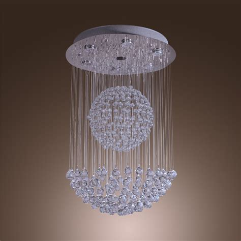 Lighting Modern Chandelier by Modern Large Chandelier Lighting Raindrop Pendant