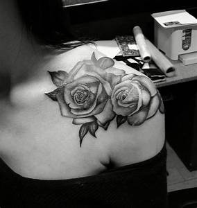 Women Rose Shoulder Tattoos | www.imgkid.com - The Image ...