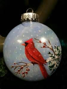 hand painted ornament holidays pinterest