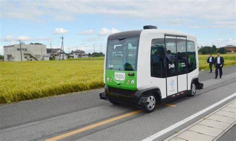 test of autonomous system starts in tochigi the