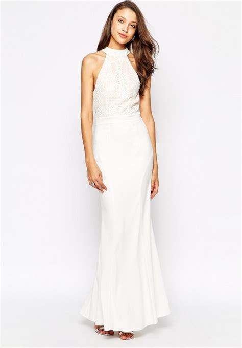 asos biala sukienka rybka z koronką ślub w suknie i sukienki szafa pl
