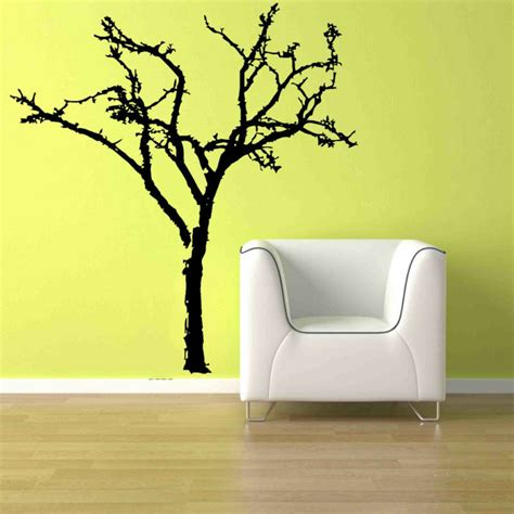 big bare tree branch home decor removable vinyl wall art
