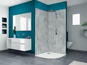 panneau decoratif pour douche trendy panneaux dcoratifs With porte de douche coulissante avec panneau décoratif mural pour salle de bain