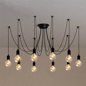 Photo of diy suspension cord pendant lights