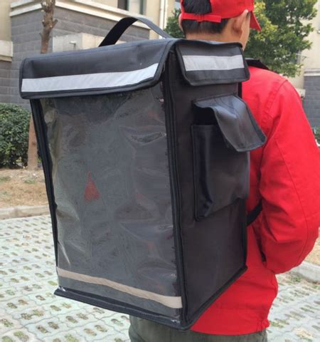 shoppy insulated food delivery  pack haversack