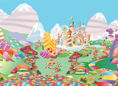 candyland background land wallpaper wallpapersafari