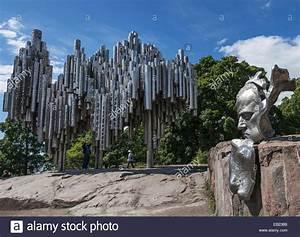 The Sibelius Monument in Sibelius Park, Helsinki, Finland ...