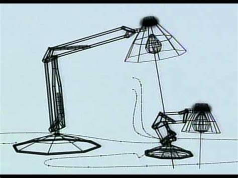 luxo jr pencil test 1986 youtube