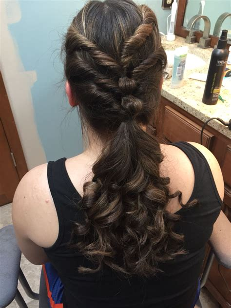 cute hairstyle for middle school dances hair in 2019