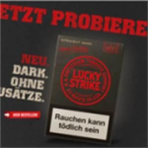 Tabak Online Kaufen Auf Rechnung : neues lucky strike logo design auf der zigarettenschachtel tabak online kaufen ~ Themetempest.com Abrechnung