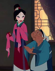 grandma from mulan quotes matchmaker